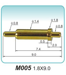pogo pin表面镀金的原因(图1)